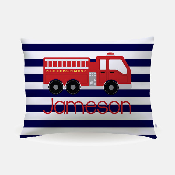 Pillow Case - standard size - Firetruck