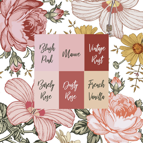 Personalized Crib Sheet - the Harlow collection - pink colorway