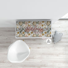 Load image into Gallery viewer, Personalized Changing Pad Cover - Vintage Floral - the Harlow collection - The Little Arrows
