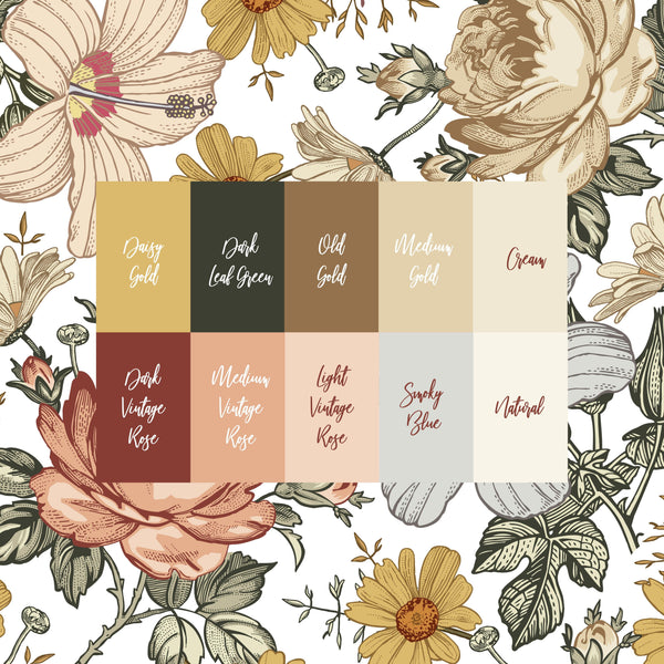 Personalized Crib Sheet - the Harlow collection - rose