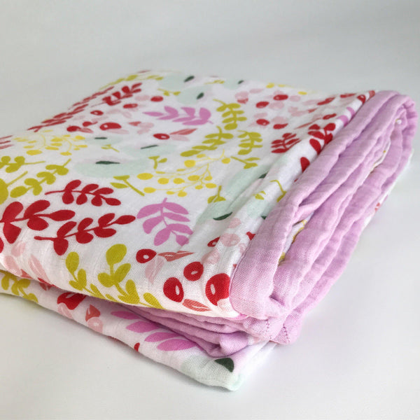 *Floral Luxe Blanket