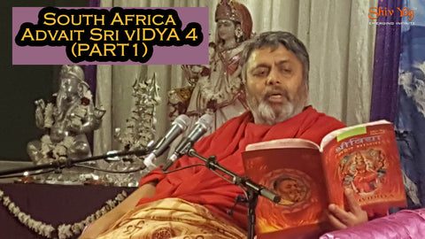 South Africa Advait Sri Vidya 4 for Kenya SV4 sadhaks