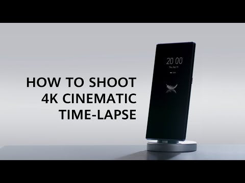 HUAWEI Mate 30 Pro - How to film Time-lapses in 4K