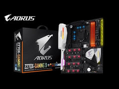 GIGABYTE AORUS 200 Series - Z270X-GAMING 9 Motherboard Unboxing & Overview