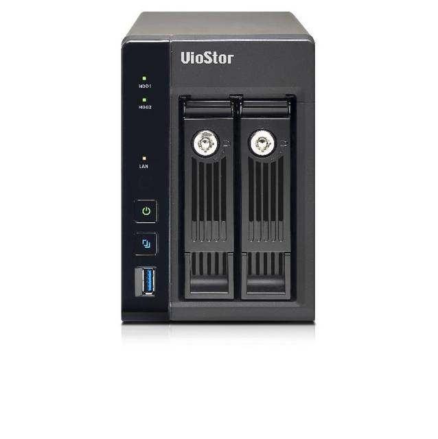 QNAP VS-2208-PRO + -US Intel de cuatro naecleos a 2,0 GHz / 4 GB de RAM / 2GbE / 2SATA3 / USB3.0 / 2-Bay Tower NVR para SMB