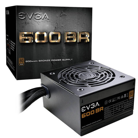 EVGA 600 BR 100-BR-0600-K1 600W 80 PLUS Bronze ATX12V y EPS12V Power Supply