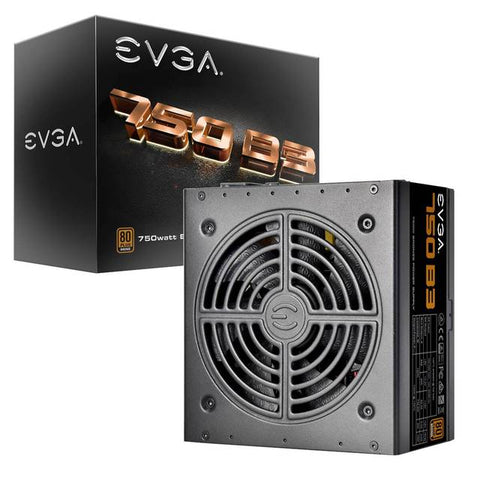 EVGA 750 B3 220-B3-0750-V1 750W 80 PLUS Bronze Power Supply w modo modular y EVGA Eco / Totalmente