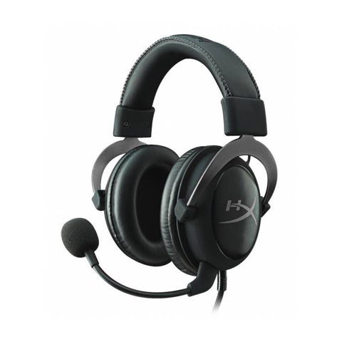 Kingston KHX-HSCP-GM Wired 3.5mm HyperX Cloud II de auriculares w / micraefono (metal de arma)