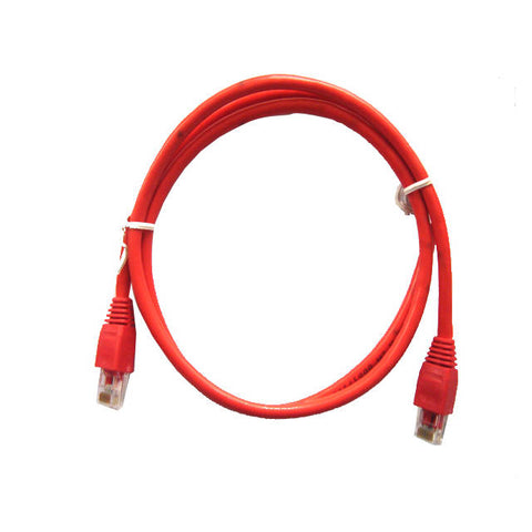 iMicro CAT5-5-RED 5 pies CAT5e Cable (rojo)