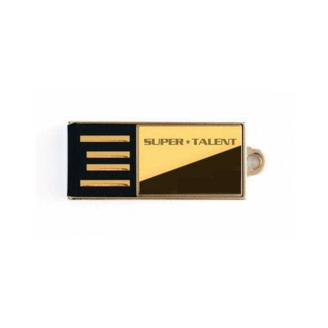 Super Talent Pico-C Edition de 16 GB Gold Limited USB 2.0 Flash Drive