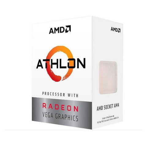 AMD Athlon 200GE de doble naecleo de 3,2 GHz Socket AM4, al por menor