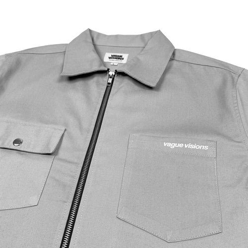 SHORT SLEEVE WORK SHIRT (SMOKE)