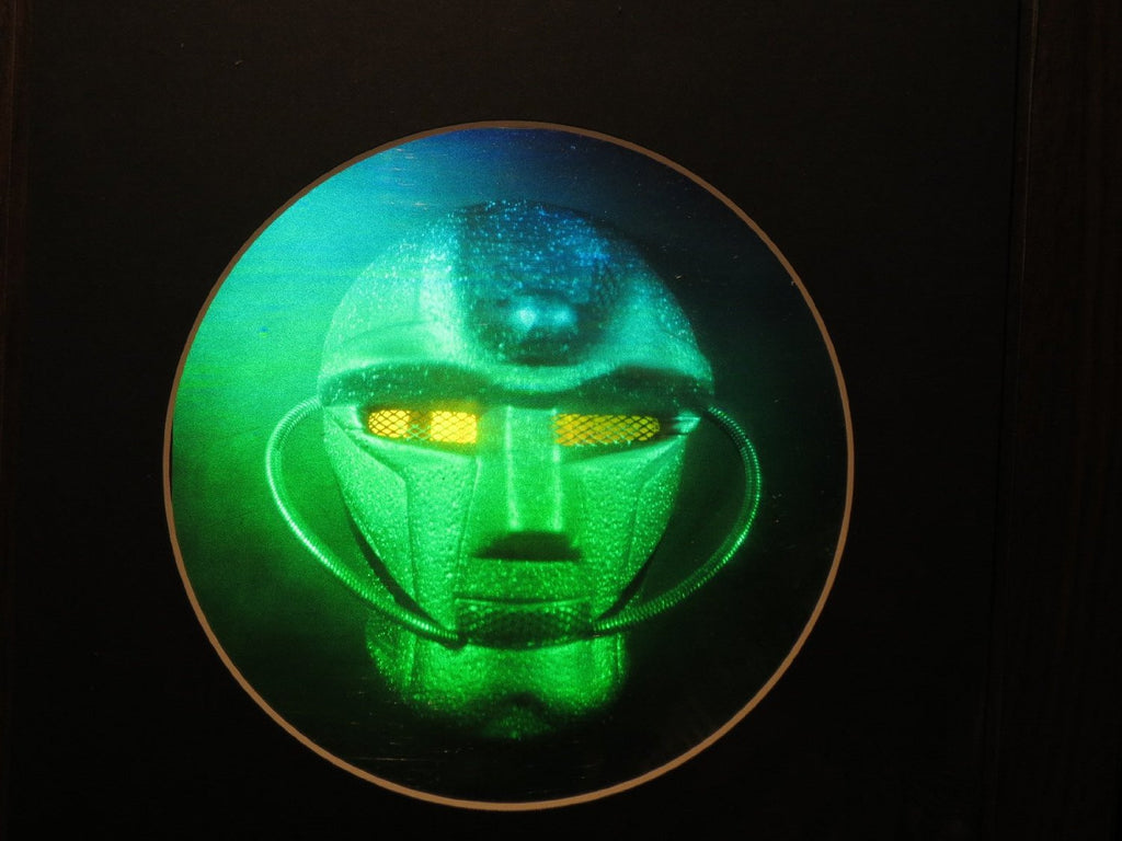SPACE MASK Matted Hologram Picture, 3D Embossed Type