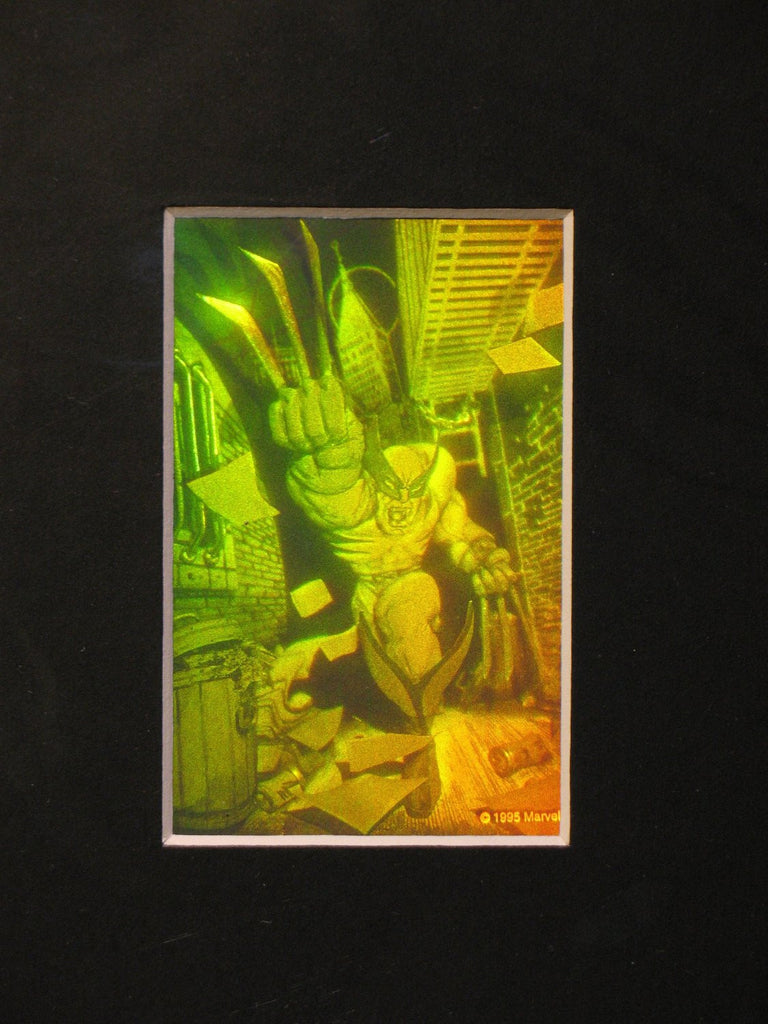 3D Wolverine Matted Hologram Picture, Collectible Polaroid Photopolymer Film