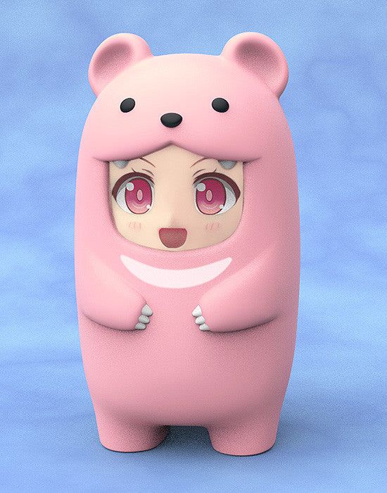 Nendoroid More Pink Bear Face Parts Case