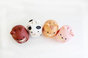 Nendoroid More Brown Bear Face Parts Case