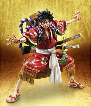 One Piece - Excellent Model Limited - Portrait.Of.Pirates Kabuki Luffy 1/8 Scale Figure