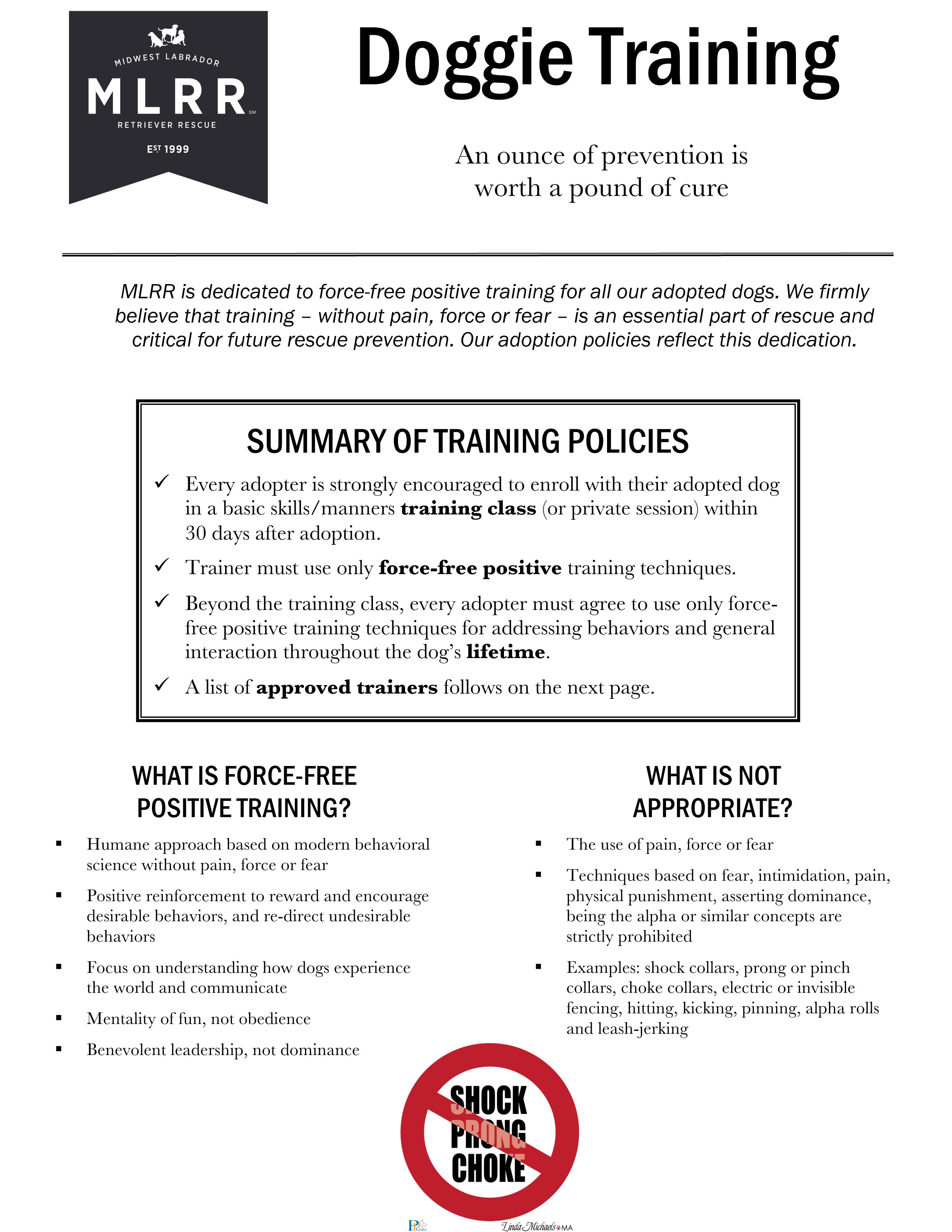 Approved Trainer Handout p.1