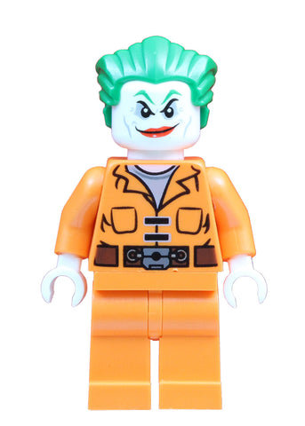 The Joker with prison jumpsuit