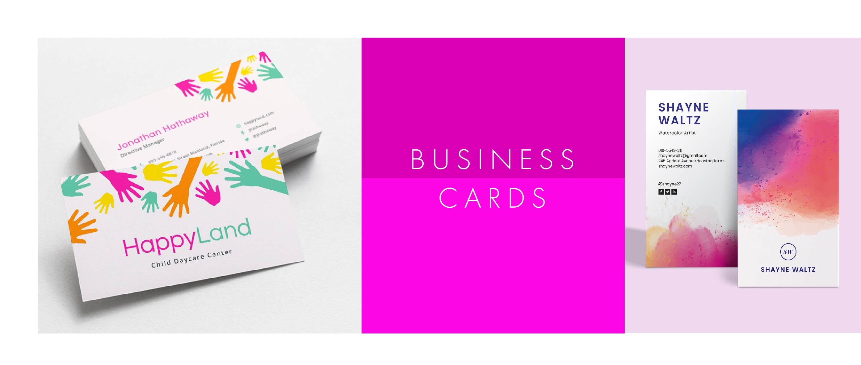 Business Cards Printing - Pixel Print Toronto