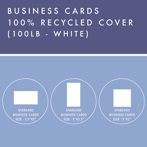 BC - 100% Recycled Cover - White
