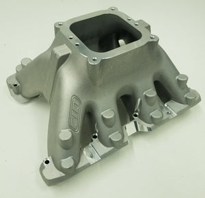 "BE 5.0 LS Oval Port Intake Manifold 9.45"" deck 4500 Carburetor"