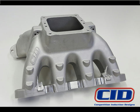 "BE 5.0 SC1 - GV2 4500 Performance Intake Manifold to suit a 9.5"" deck block."