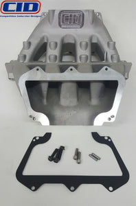 2 Piece BE SB Ford & BE LS Intake Manifold Conversion