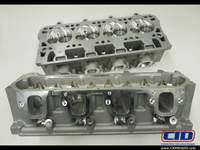 "GE 2.7"" MCSA 287cc LT Small Chamber CNC Ported Cylinder Heads (Price Per Pair BARE)"