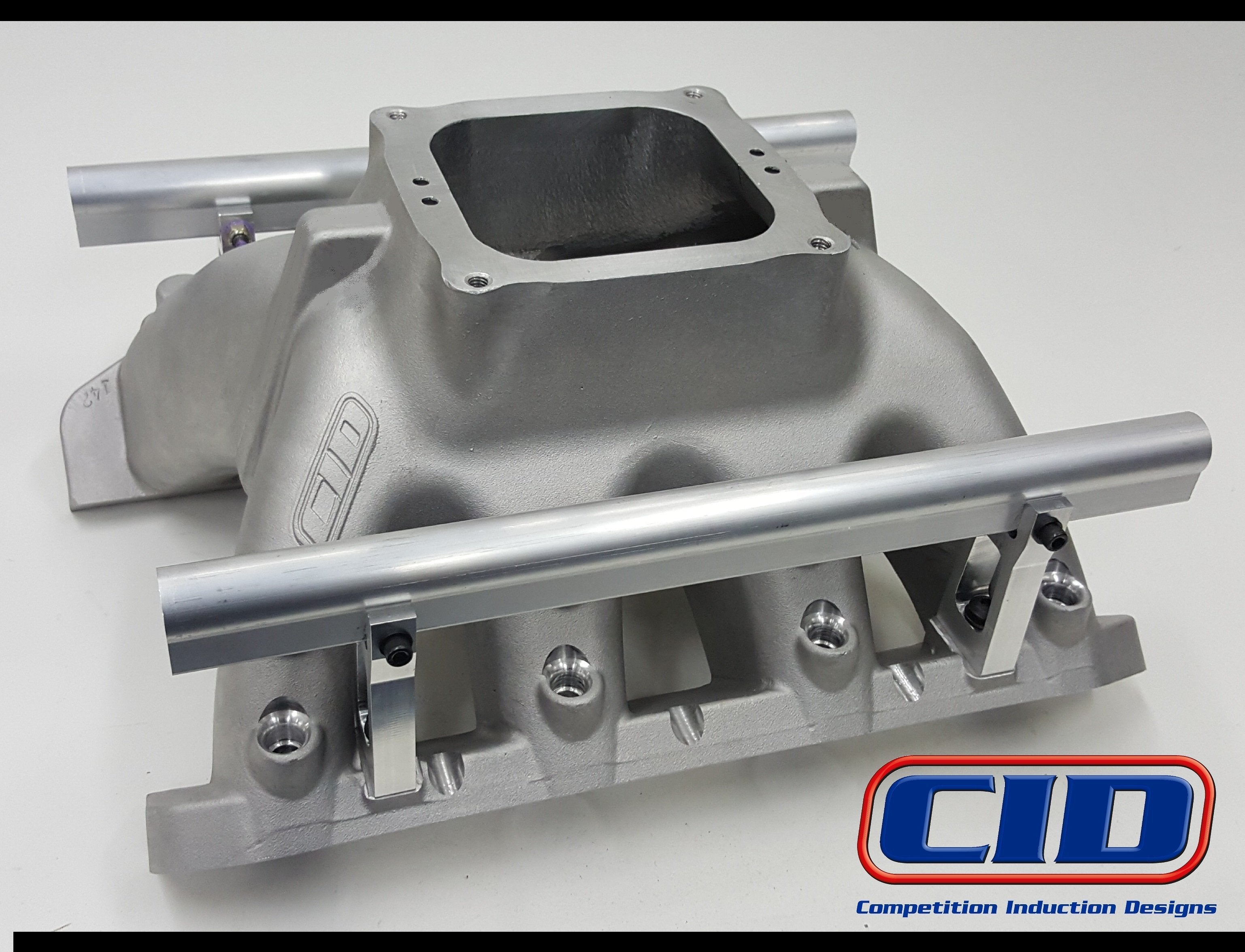 Small Block Ford SC1, GV2, D3 Race Intake Manifold – CID Heads
