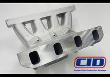 "BE 5.0 4150 SB Ford Semi Finished Flange Performance Intake Manifold to suit a 9.5"" deck block."