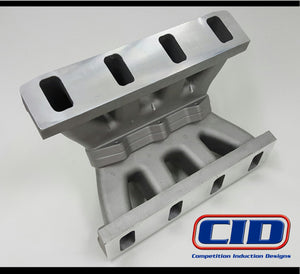 "BE 4.0 LS Semi Finished Flange Intake Manifold. 9.75"" deck"
