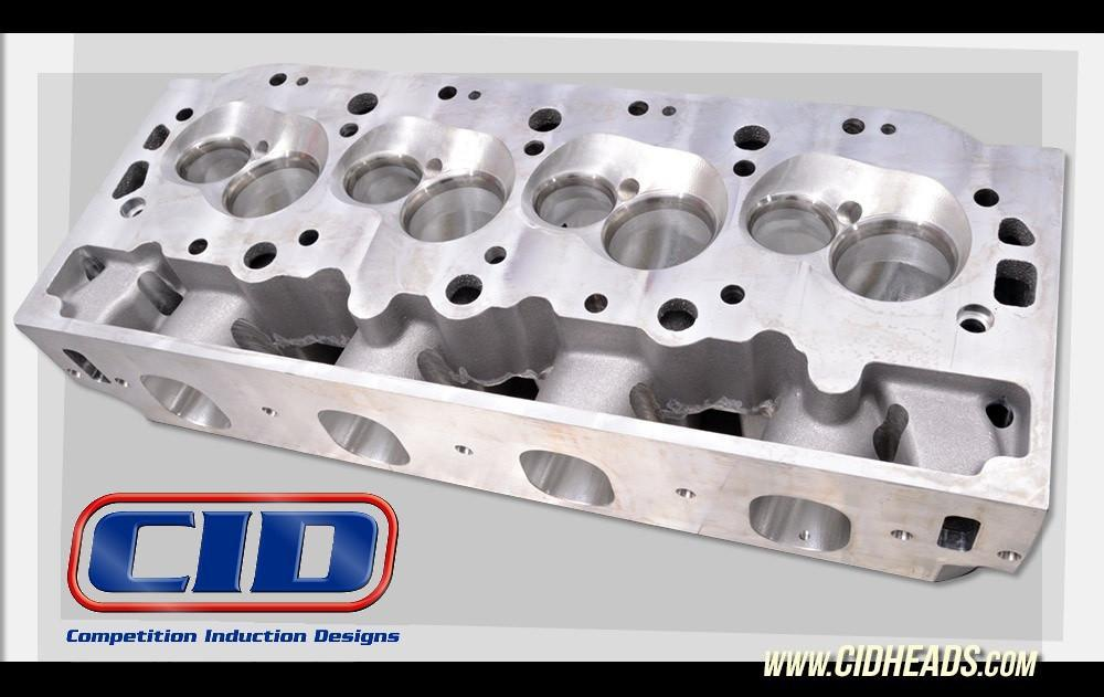 DM 500 CNC Ported Symmetrical Port Big Block Chevy heads (Price per pair  BARE)
