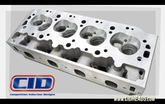 JK 400 CFM Big Block Chevy Cylinder Heads with as cas ports. (Price per pair BARE)
