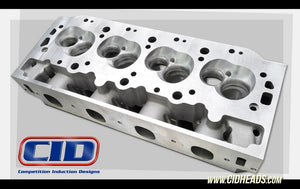 DM 500 Symmetrical Port Big Block Chevy Heads with as cast ports. (Price per pair BARE)