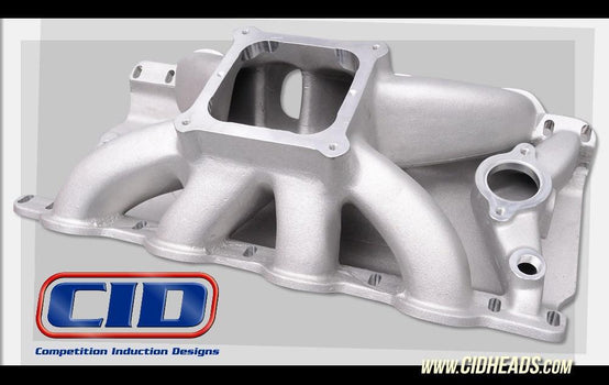 Big Block Chevy Intake Manifold for CNC and as cast DM500