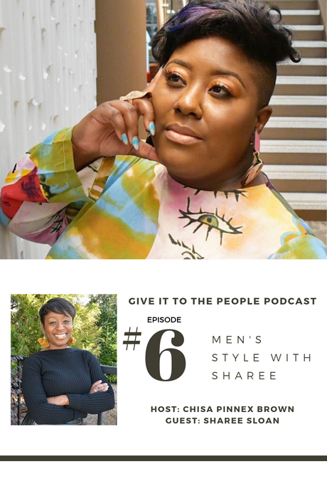 Guest on Give To The People Podcast hosted by Chisa Pinnex-Brown