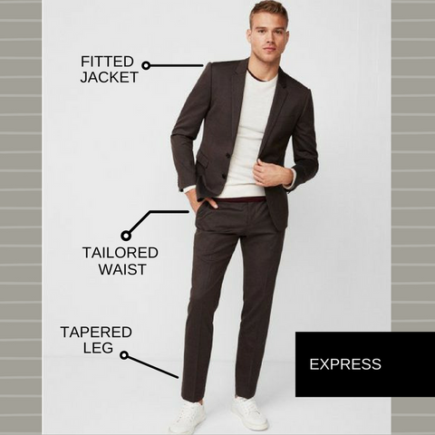 wear white sneakers with a suit – SIX21