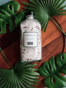 SIX21: ORPHIC After Workout Bath Salt & Foot Soak