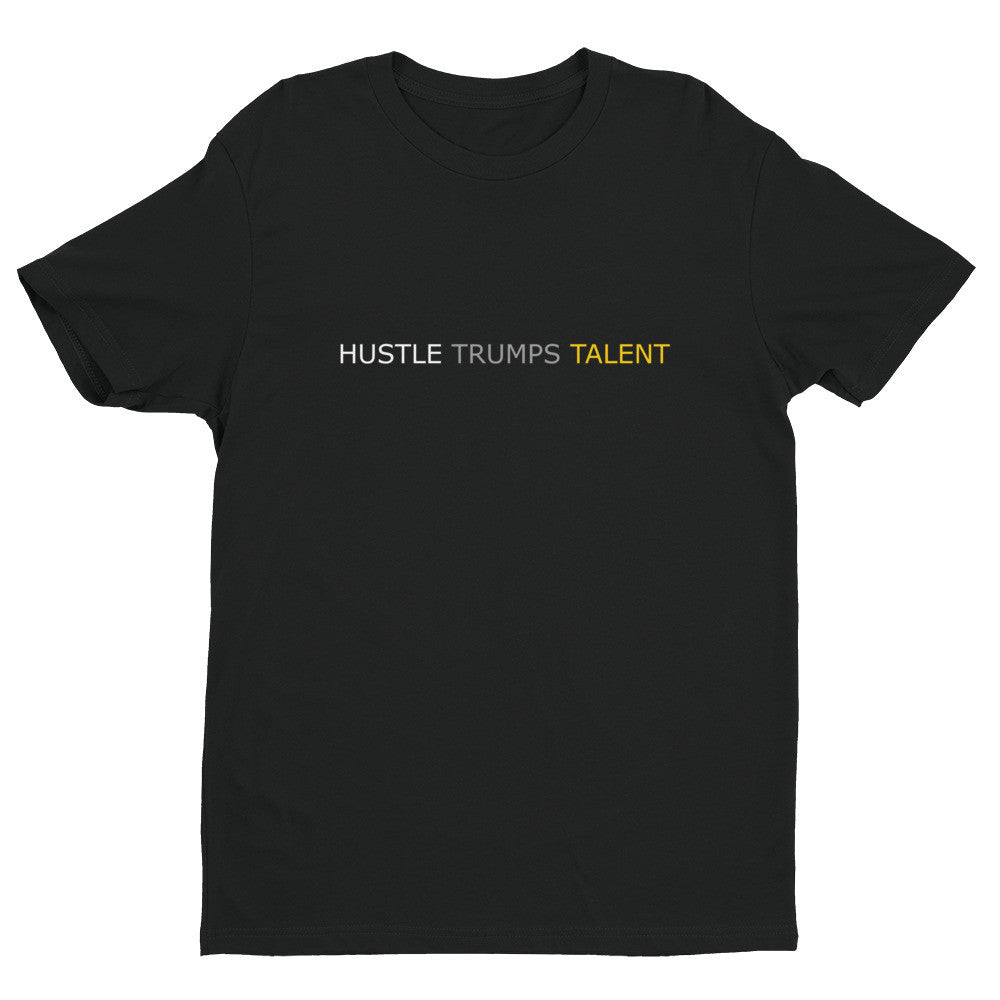 Hustle Trumps Talent: Short Sleeve Men's Premium Tee