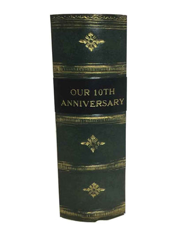 OUR 10TH ANNIVERSARY - Antique Style Photo Album