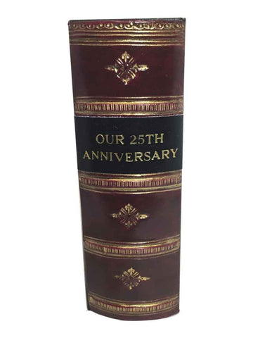 OUR 25TH ANNIVERSARY - Antique Style Photo Album