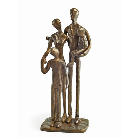 ZD1152 FAMILY OF FOUR BRONZE