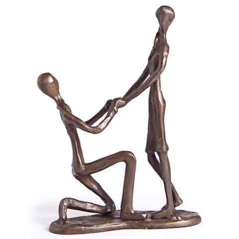 THE PROPOSAL CAST BRONZE