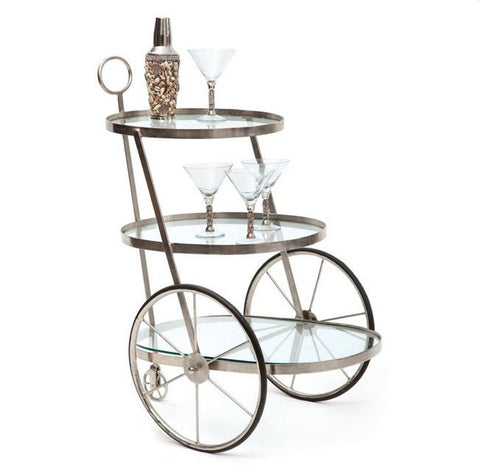 Go Home Miami Bar-Tea Cart