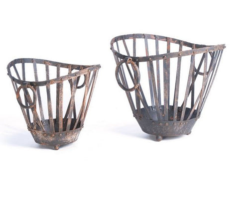 Go Home Set of 2 Market Baskets