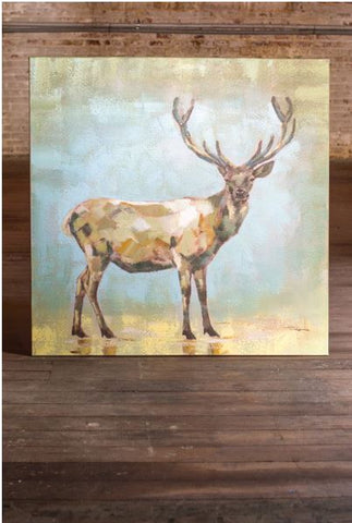 Kalalou Oil Painting Buck