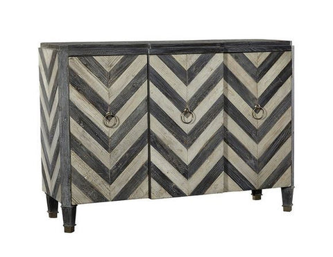 Furniture Classics Three Door Chevron Sideboard 53wx38.5h
