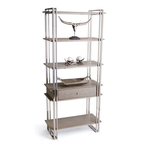 Go Home Atkinson Shelving Unit 39.5l x 88.5h