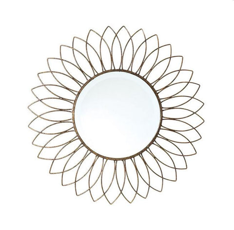 Go Home Wire Sun Mirror 28""